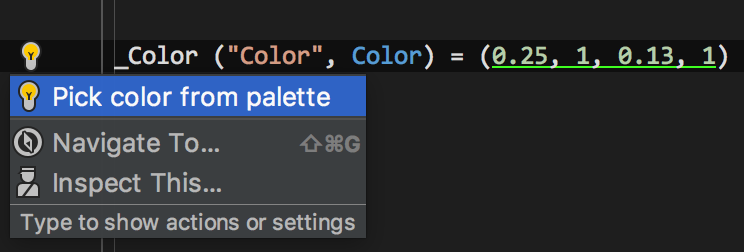 Colour picker in shader files