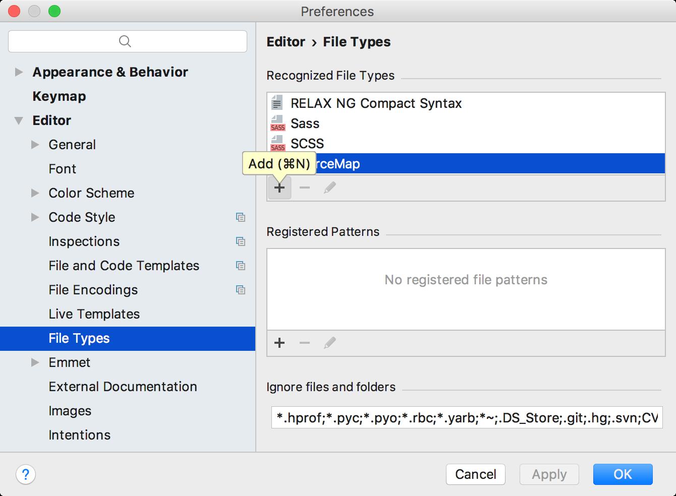 Add file type