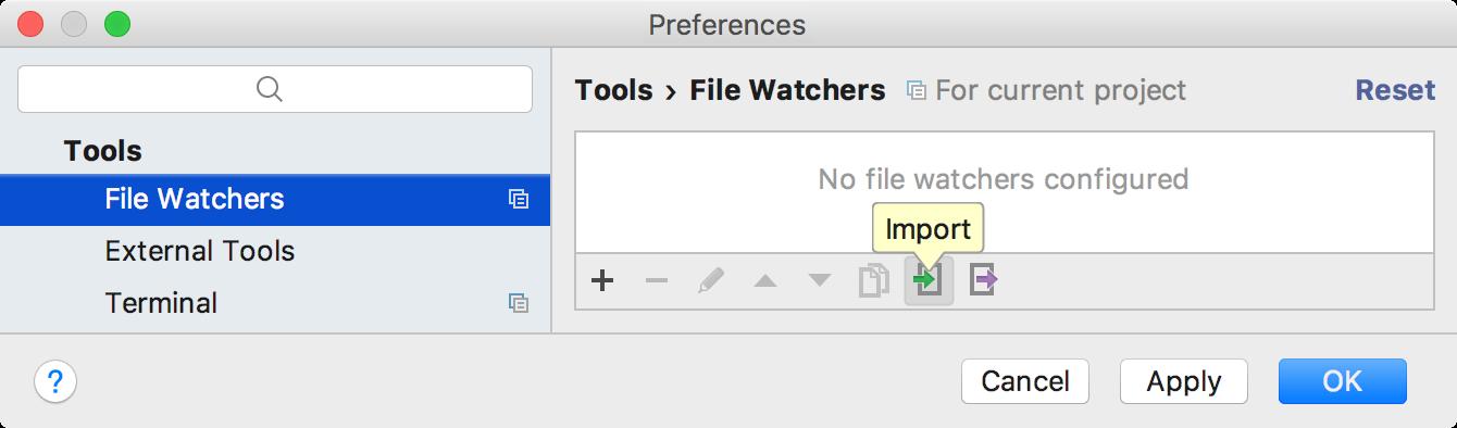 Import File Watcher