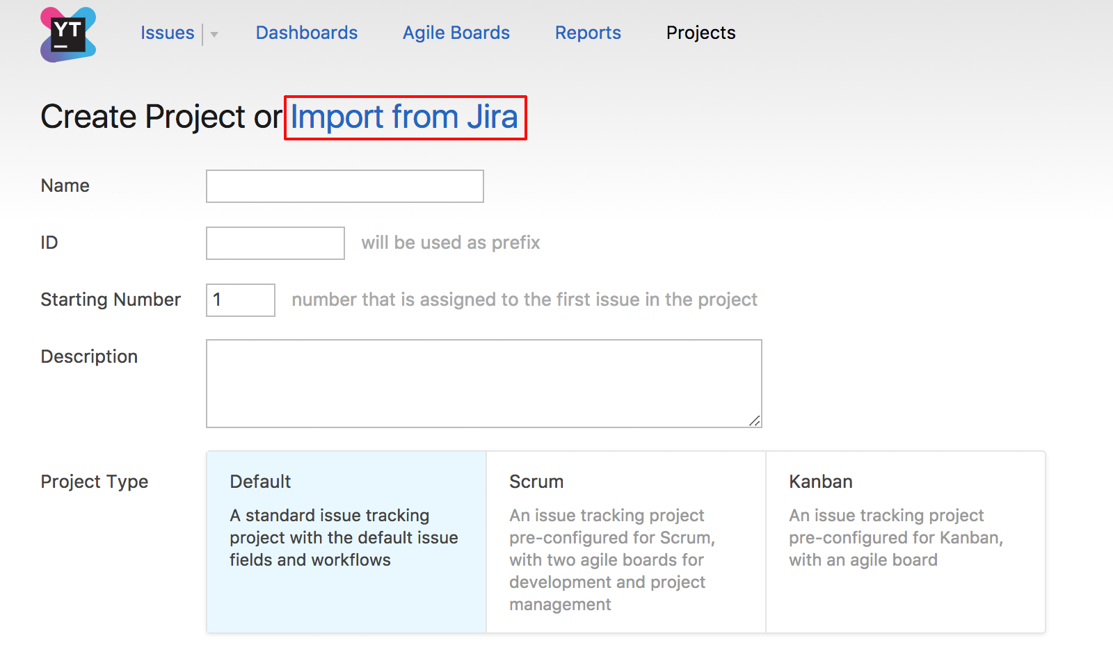 Create_project_Jira