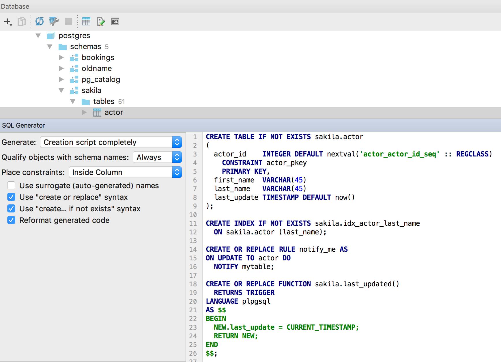 01 — SQL-Generator