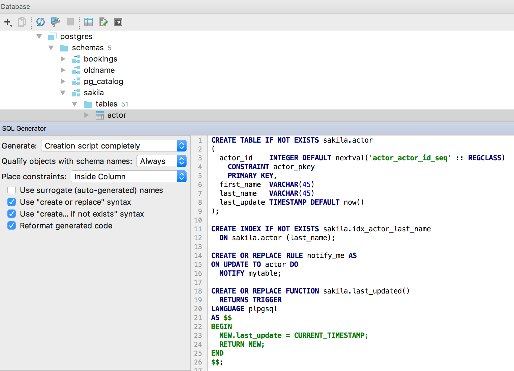 SQL-Generator