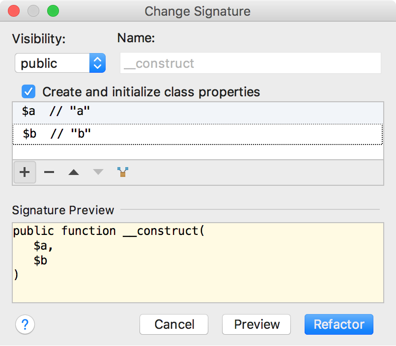 change-signature