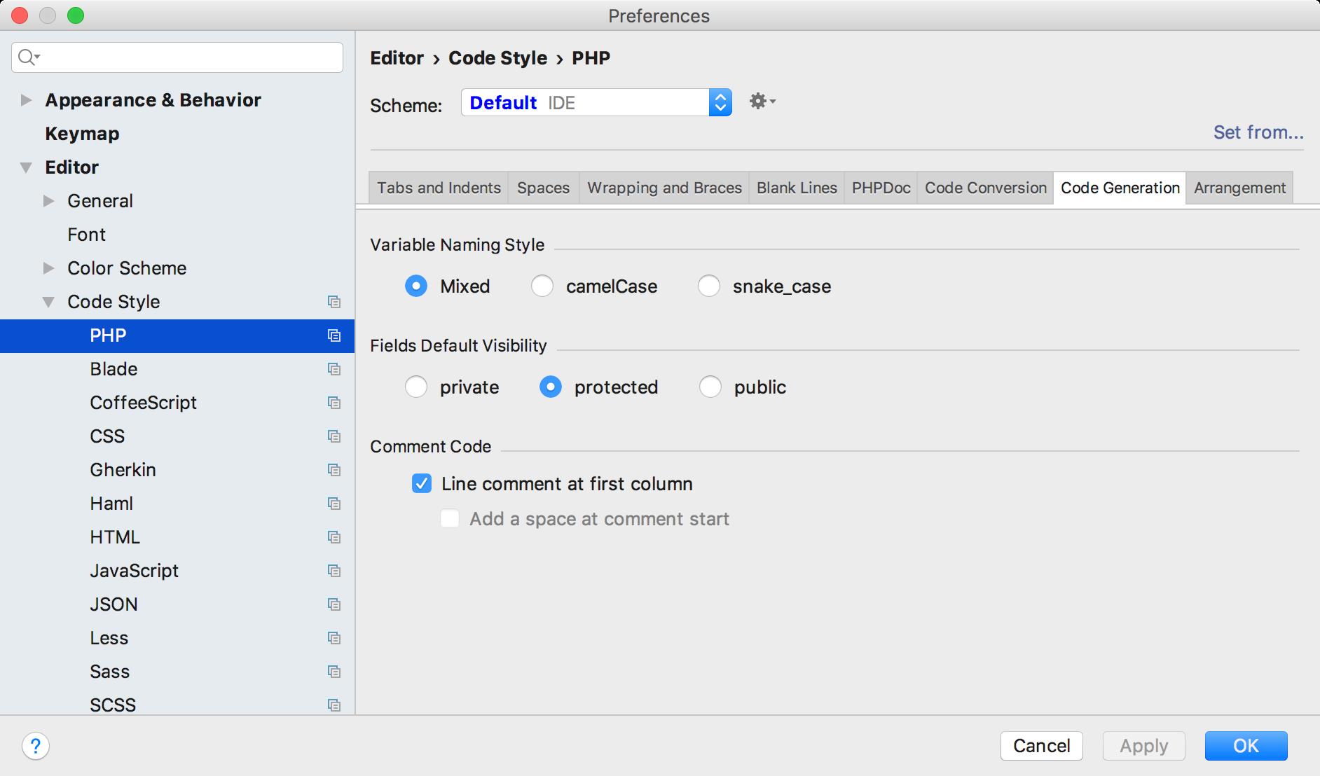 fields-default-visibility