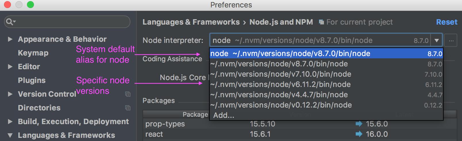 node-alias