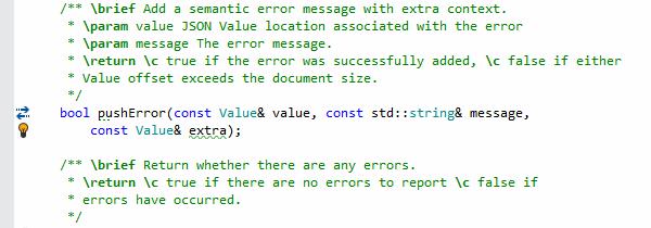 Generate parameter documentation