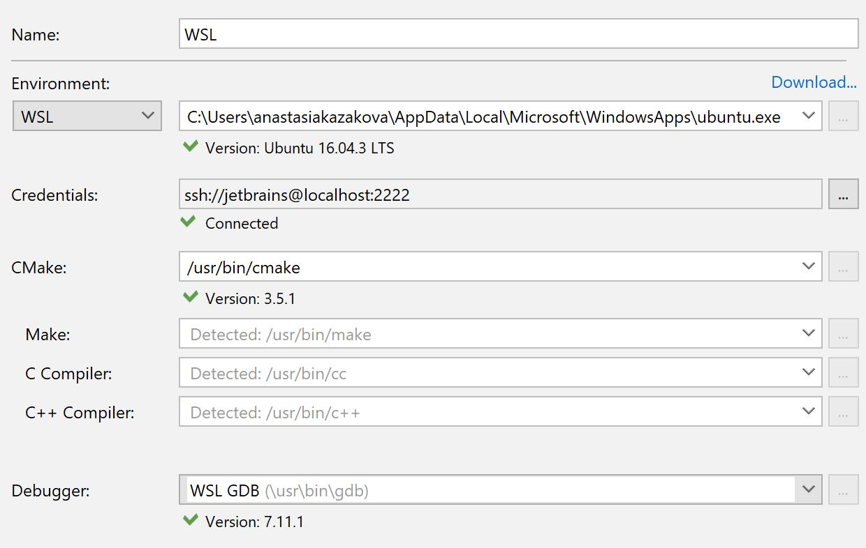 WSL_toolchain_settings