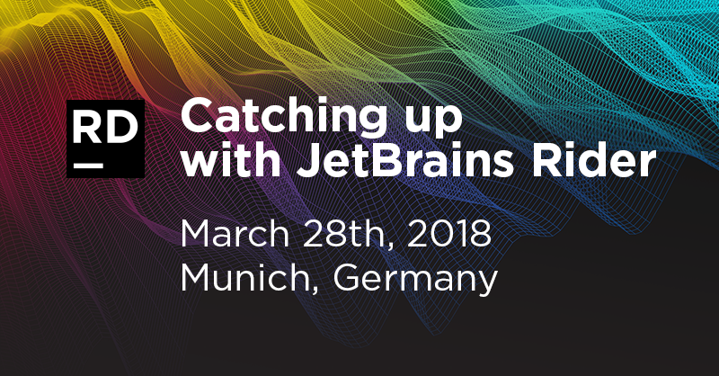 Free Rider event at the JetBrains Munich office on March 28th