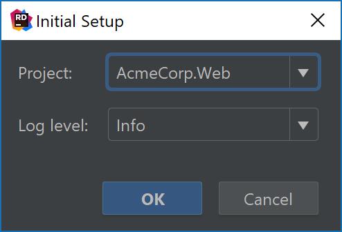 Initialize Entity Framework configuration