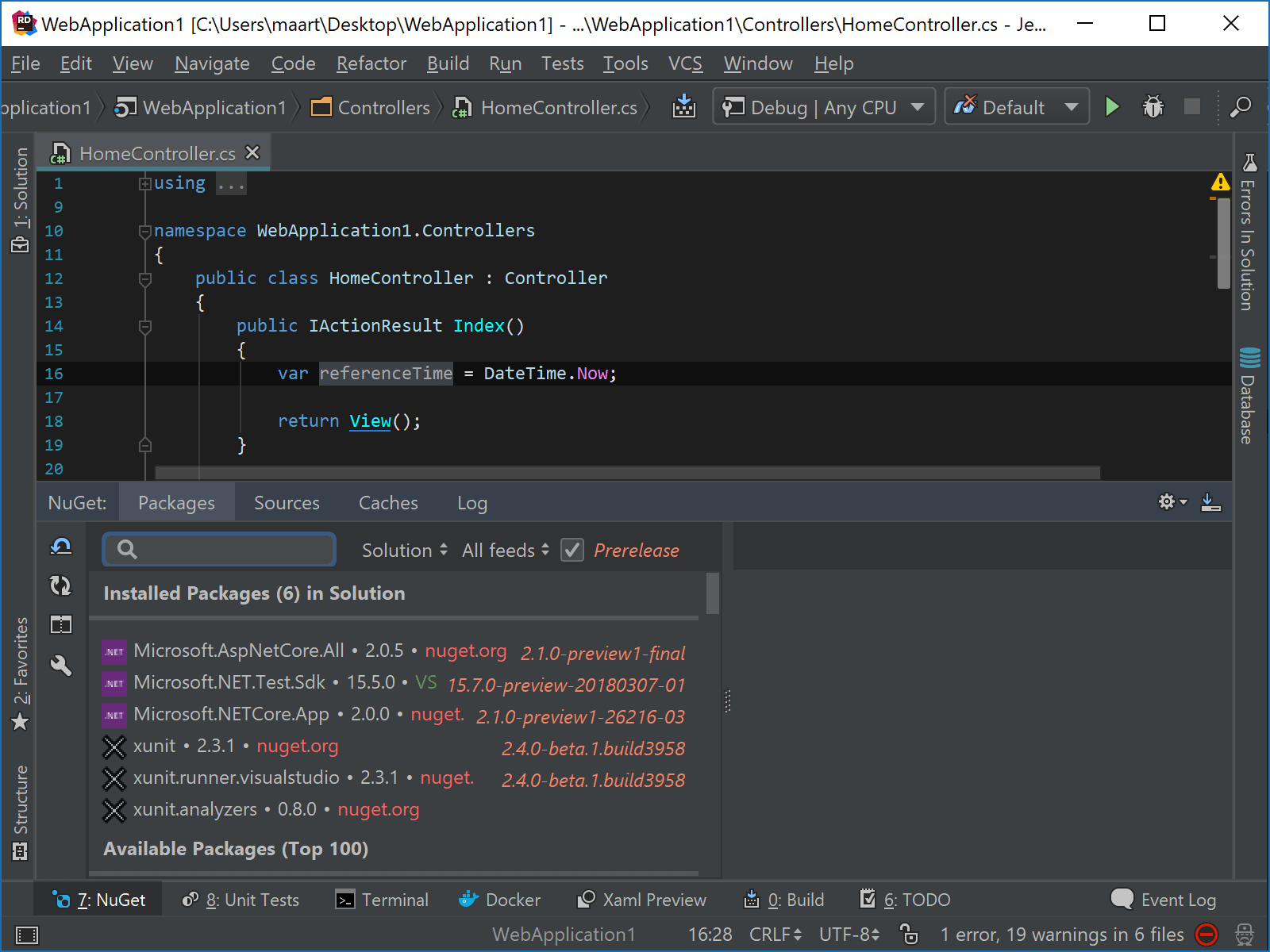Install Roslyn analyzer in Rider using NuGet client