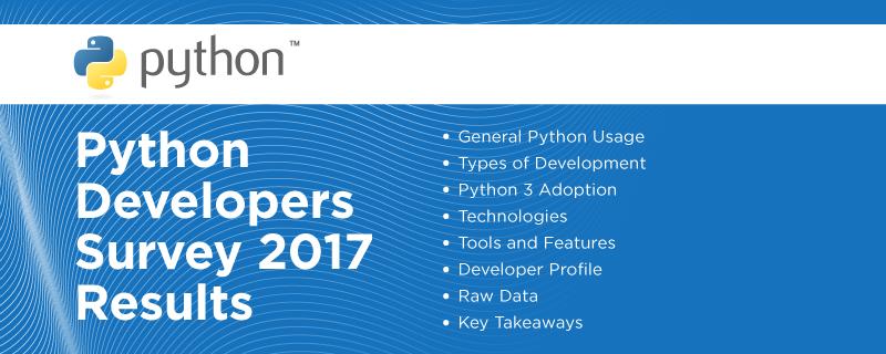 PythonDevelopersSurvey2017