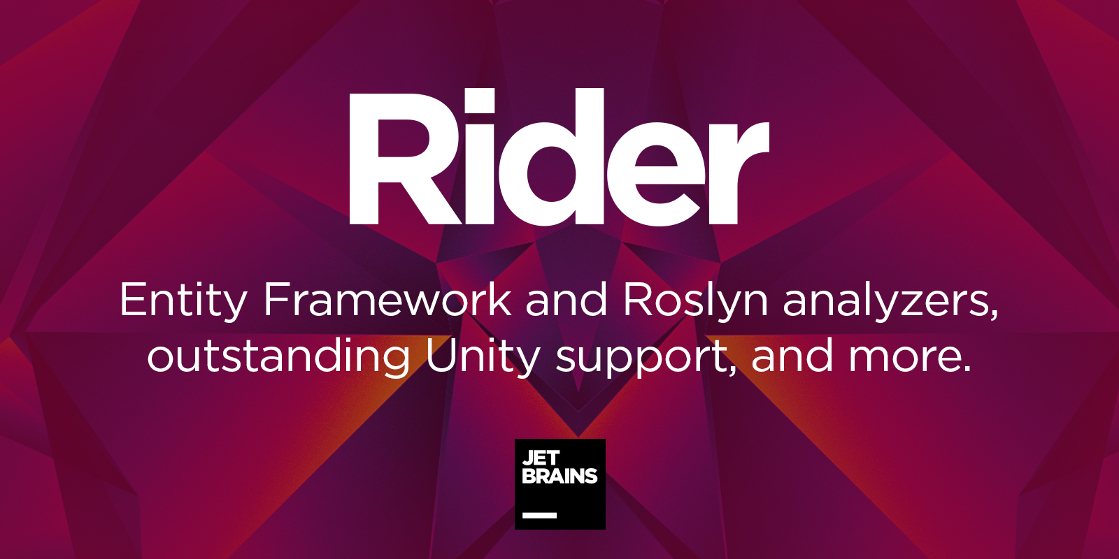 Download JetBrains Rider 2018.1