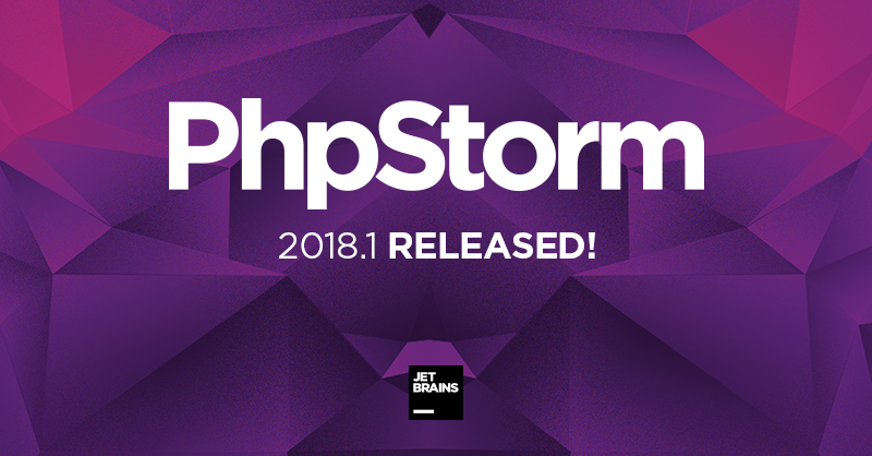 PhpStorm 2018.1