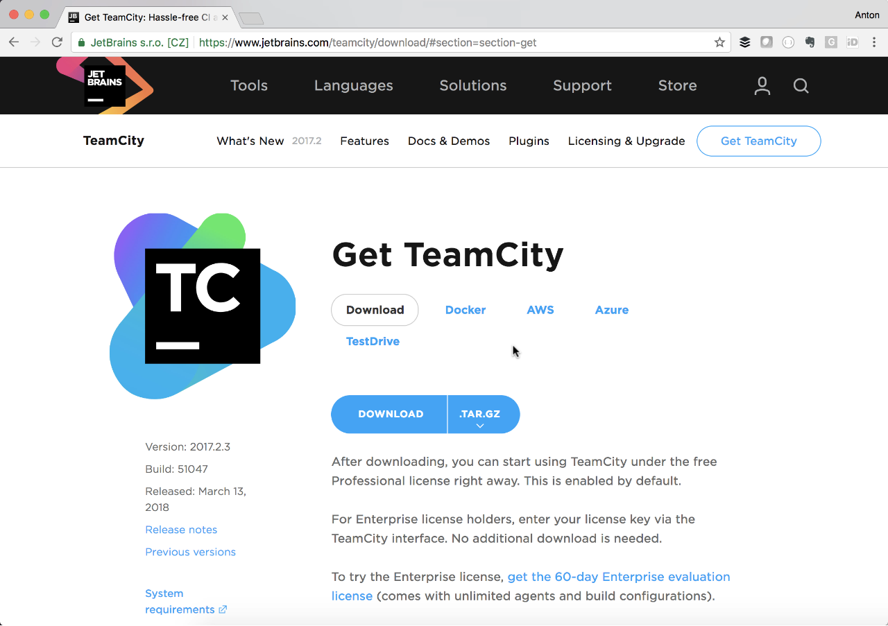 Deploy TeamCity to AWS using CloudFormation template