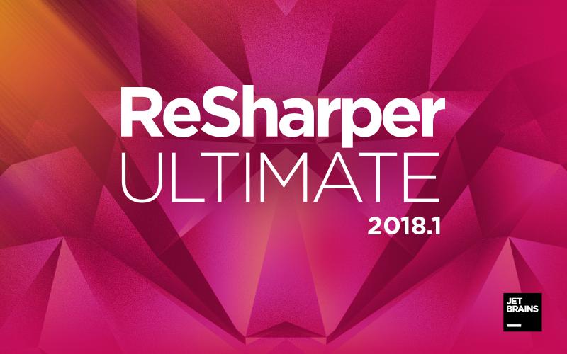 ReSharper Ultimate 2018.1