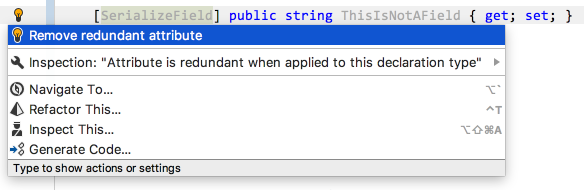 Remove redundant attribute