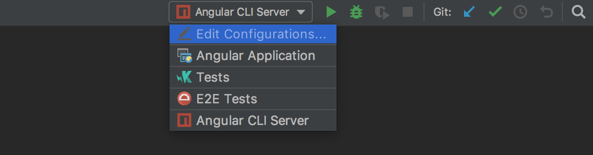 angular-cli-project-configurations