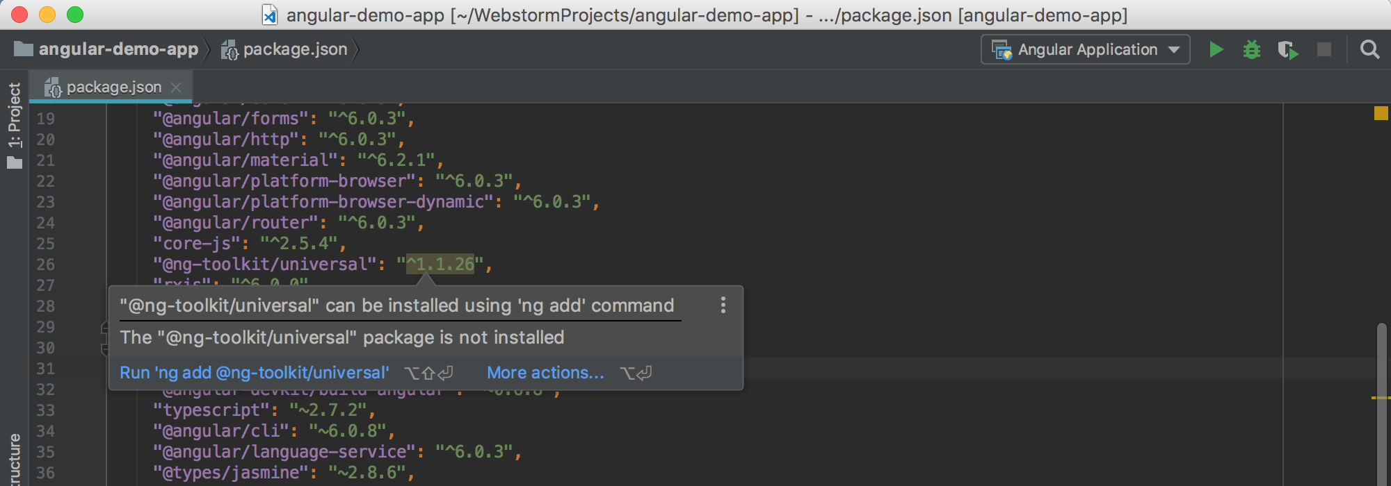 webstorm-install-with-ng-add-inspection