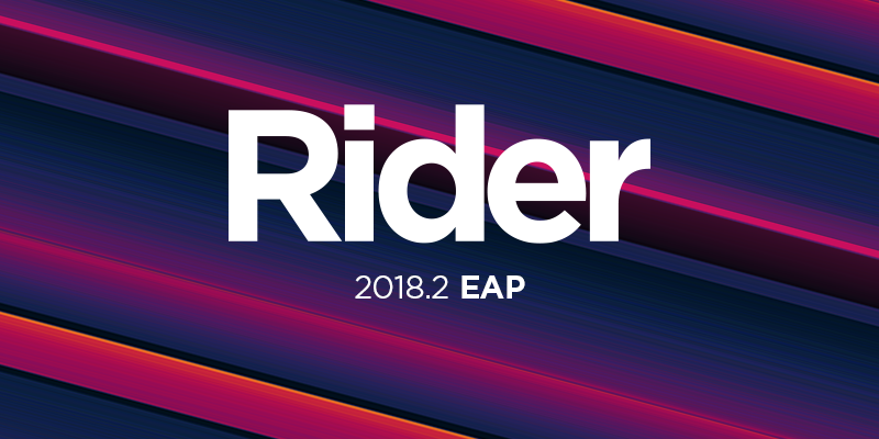 Rider 2018.2 Early Access Program is open!