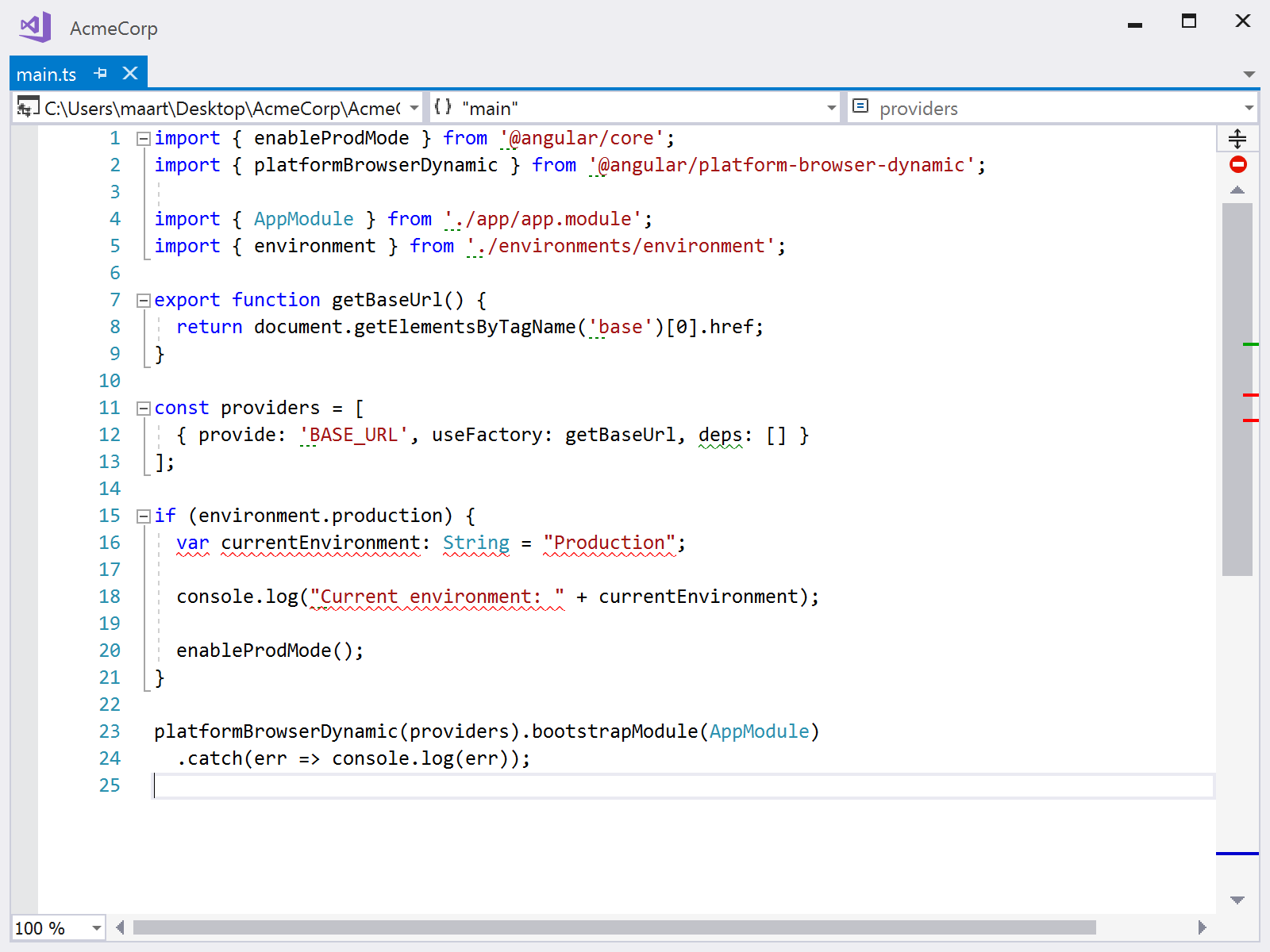 Displaying TSLint and other linter inspections in the editor with ReSharper