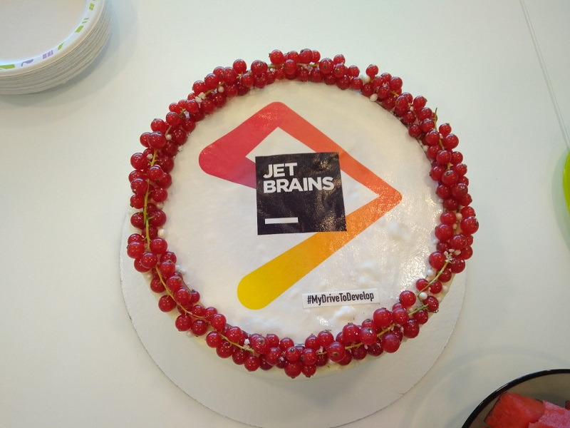 Programmers' Day 2018: cake