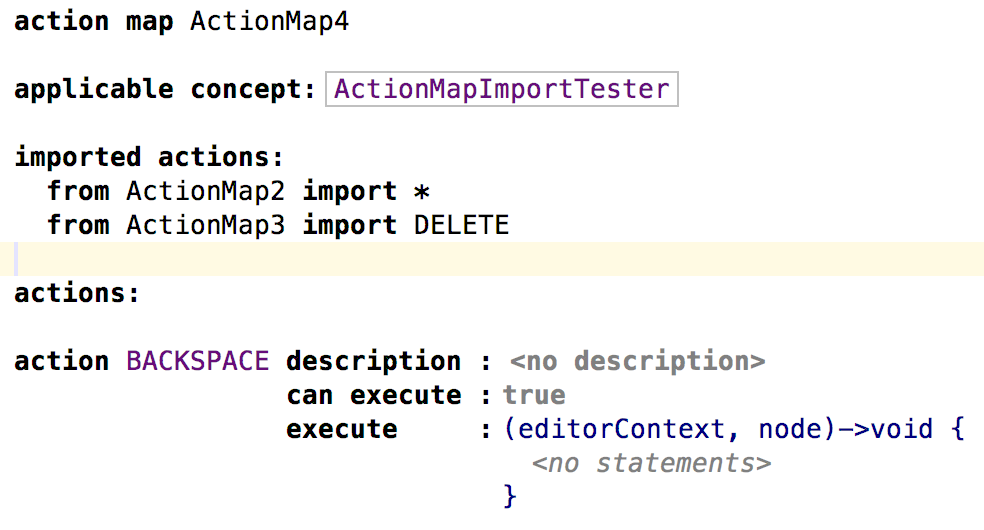 action-map-imports