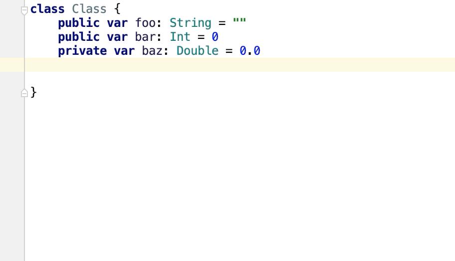 Generate debugDescription