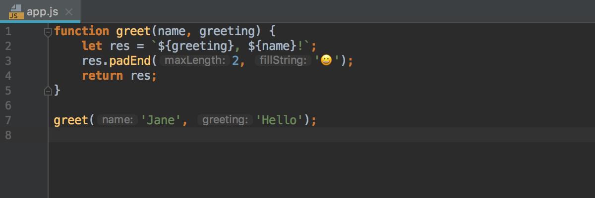 parameter-hints-in-js