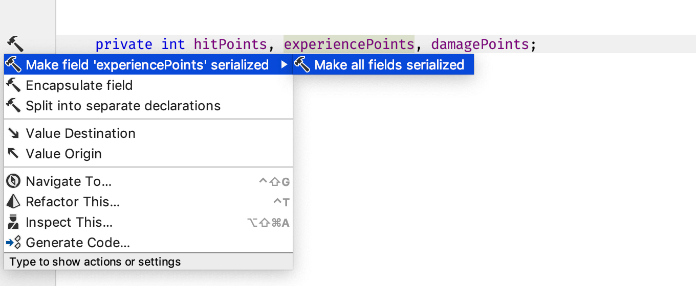 Add FormerlySerializedAs attribute during rename