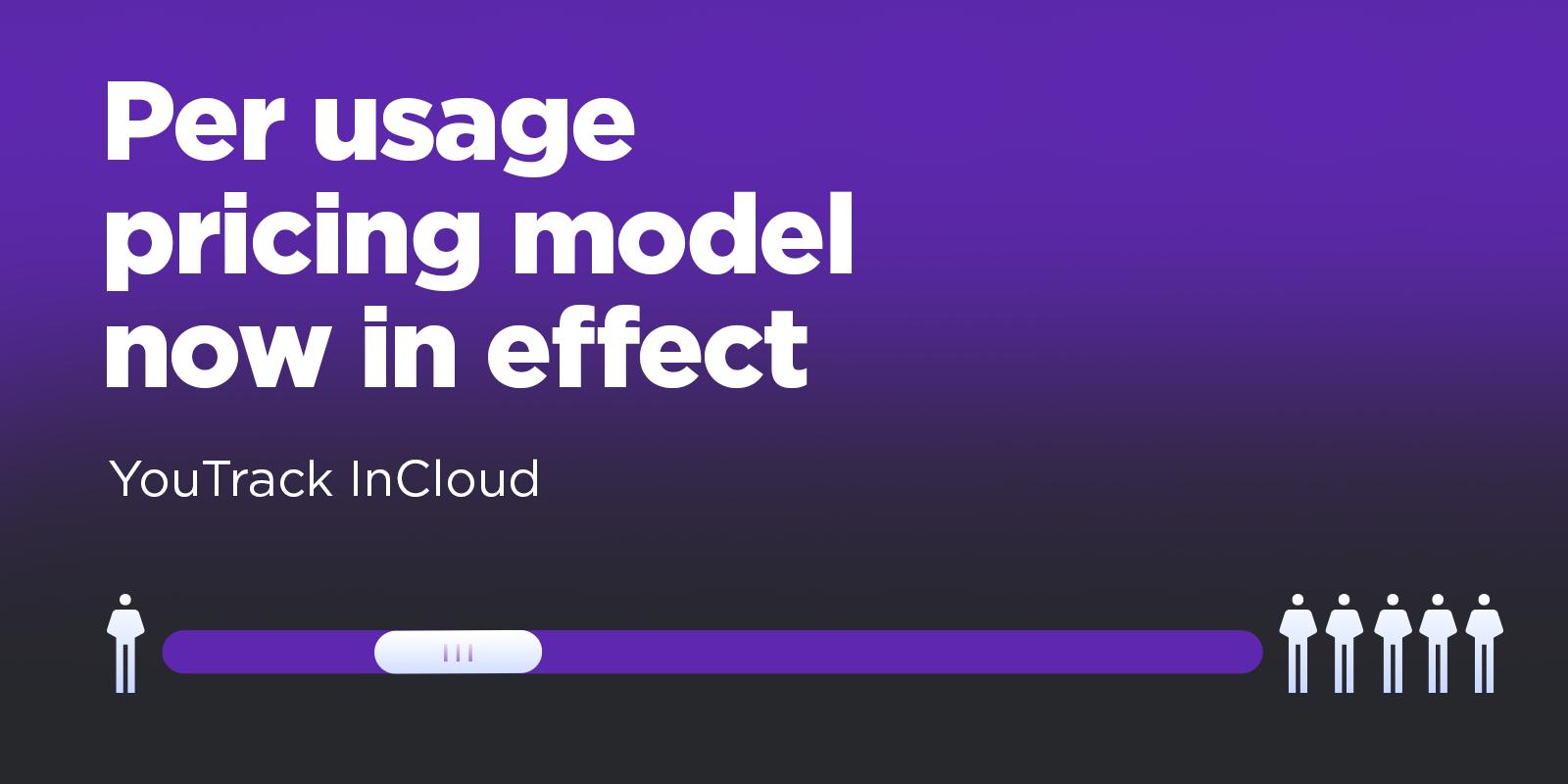per usage pricing model