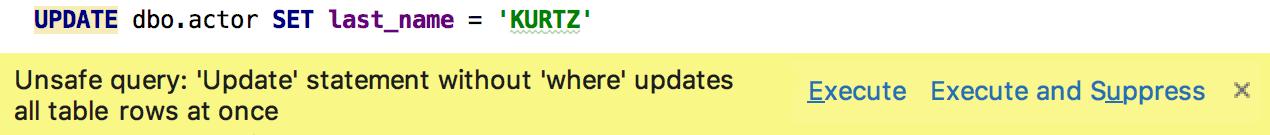 UpdateWarningAfterExec