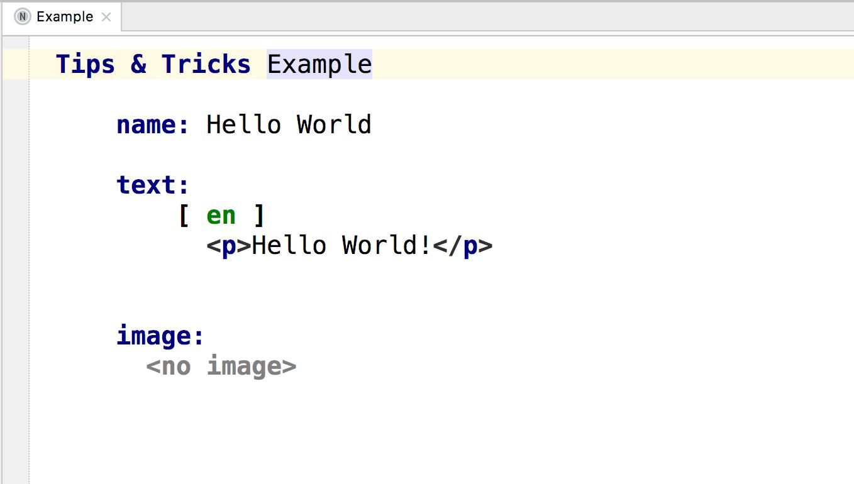 Build language_Tips&Tricks Language_2