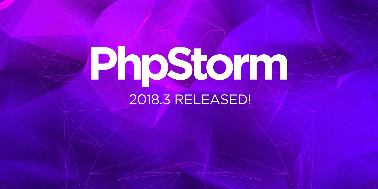 PhpStorm 2018.3