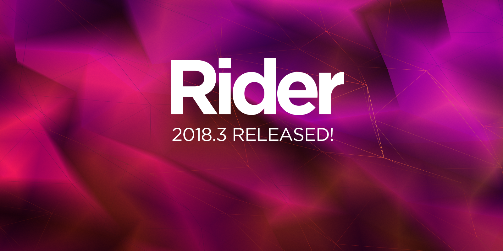 Rider 2018.3 maintenant disponible