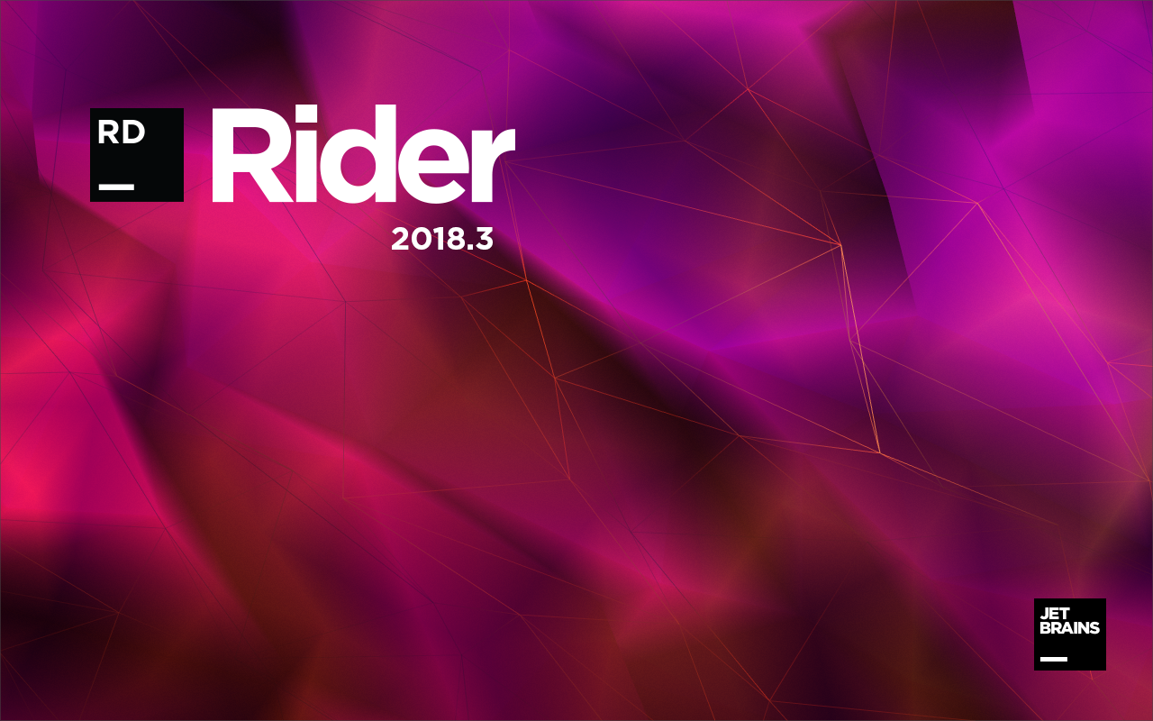 Rider 2018.3 Splash Screen