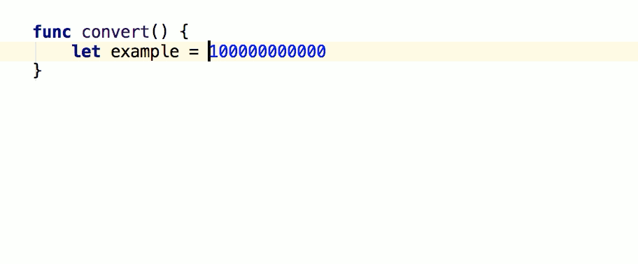 Add / remove separators