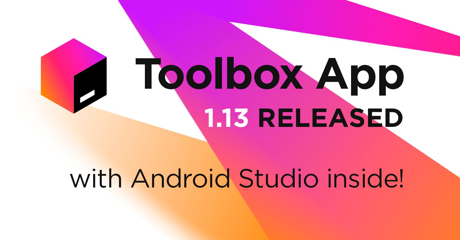Toolbox App 1.13 Released!