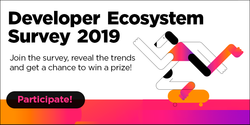 Developer Ecosystem Survey 2019
