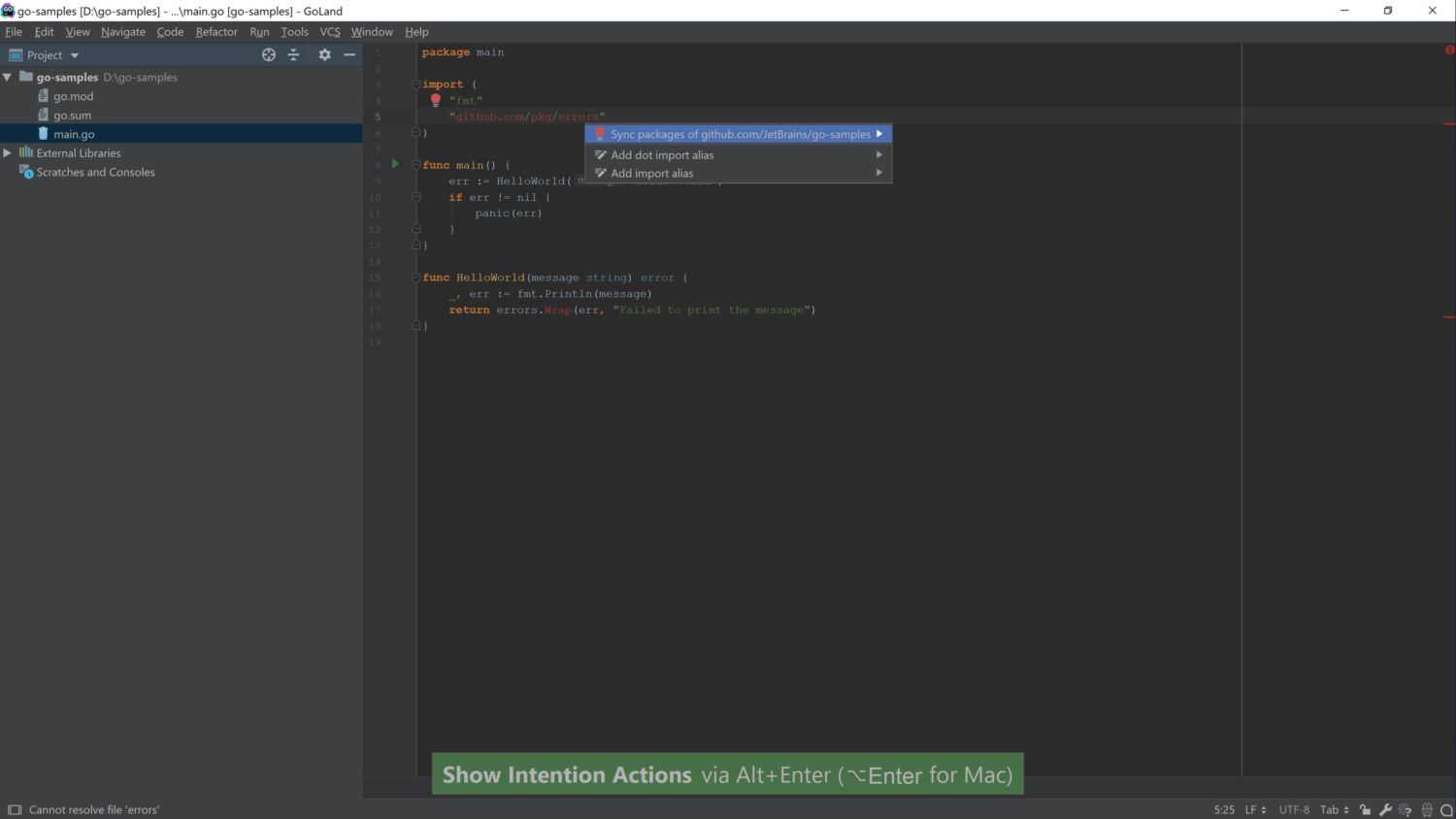 Working with Go Modules blog - 2