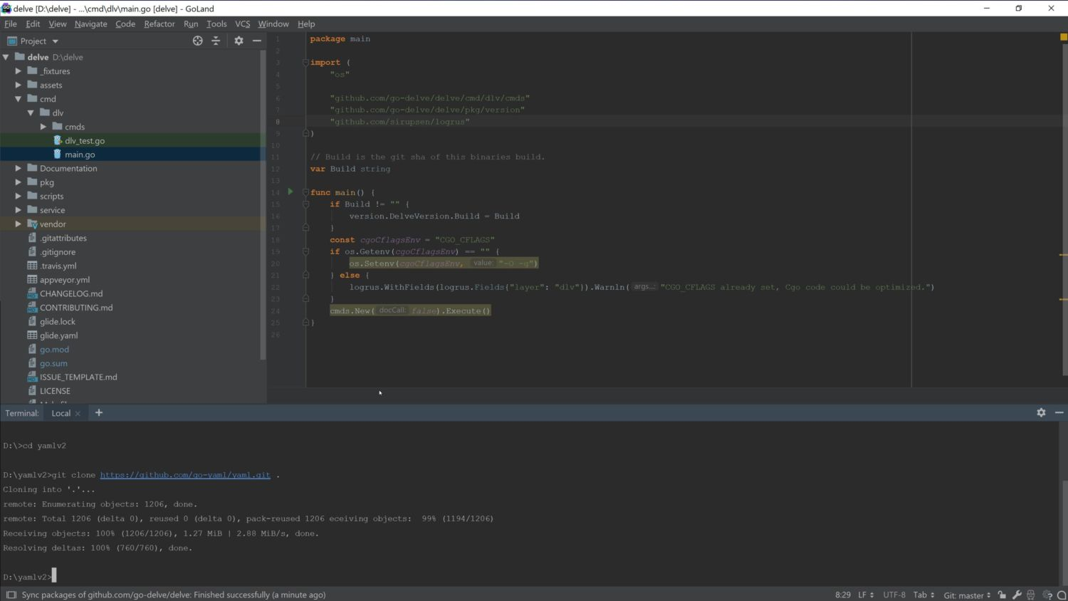 Working with Go Modules blog - 4
