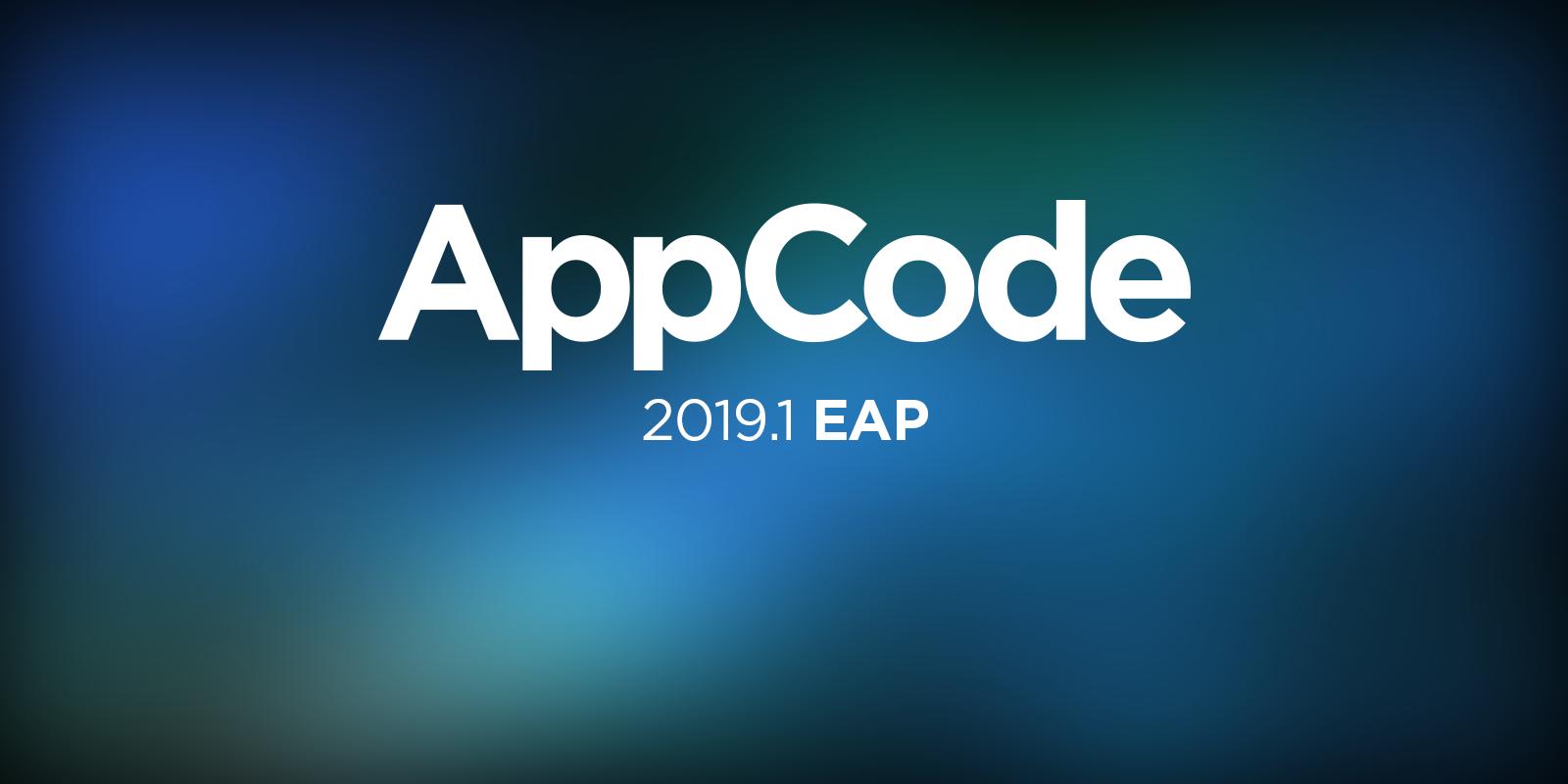 AppCode 2019.1 EAP