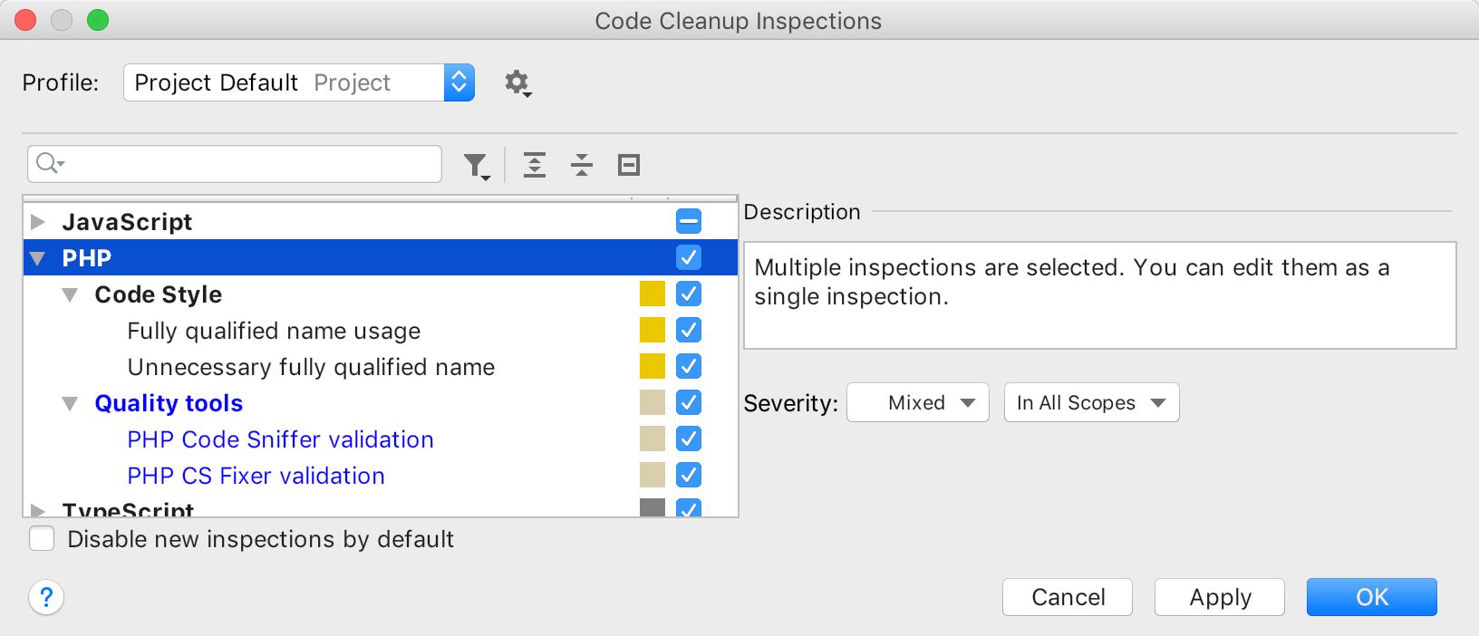 code-cleanup-inspections