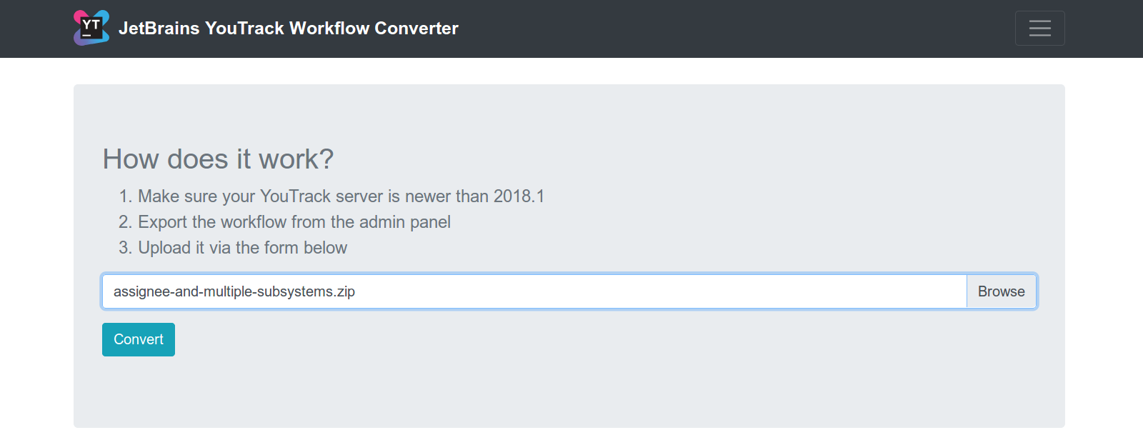 WorkflowConverter