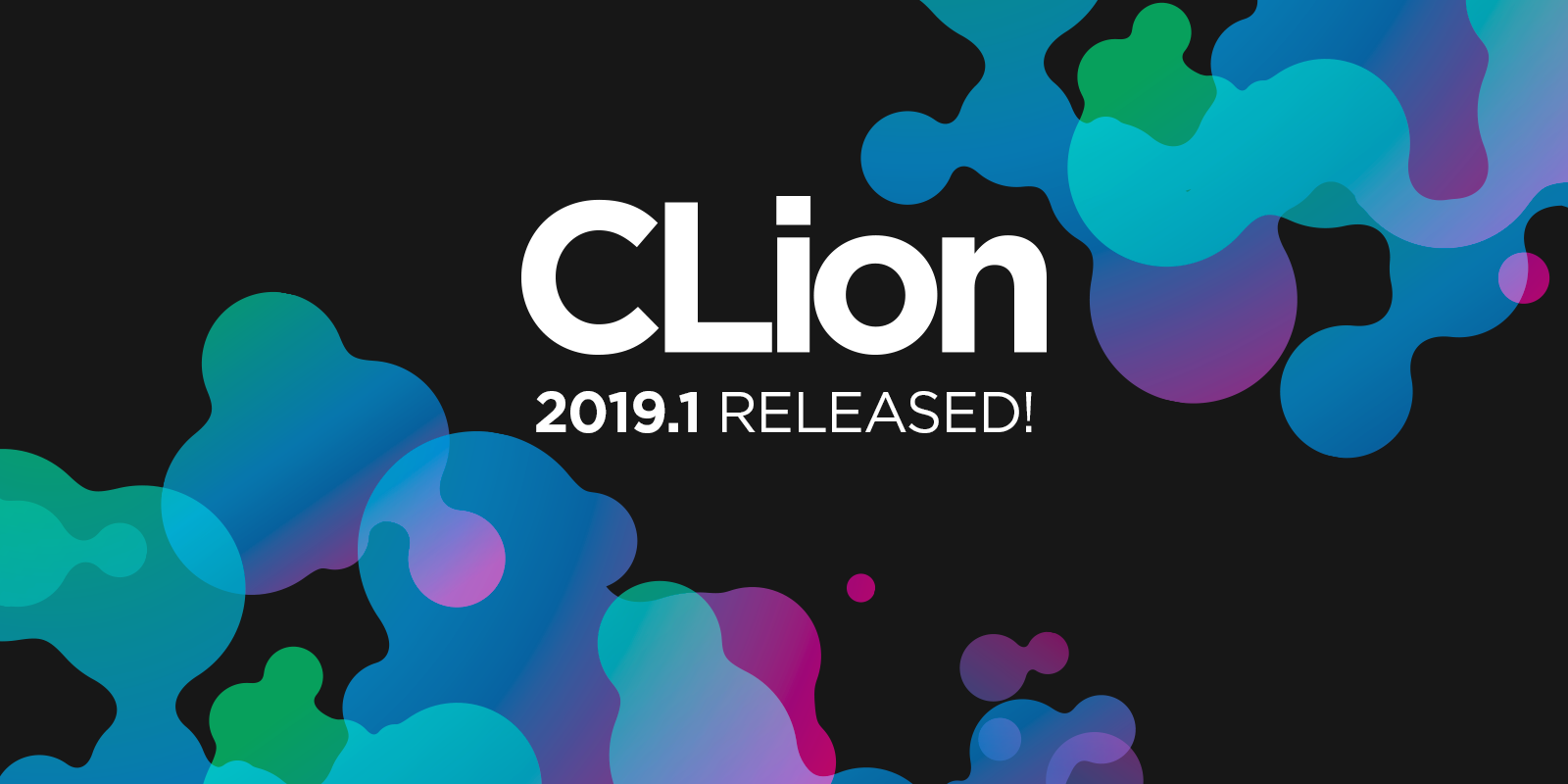 CLion 2019.1 released!