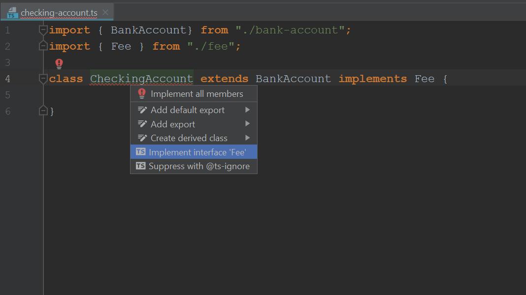 implement an interface