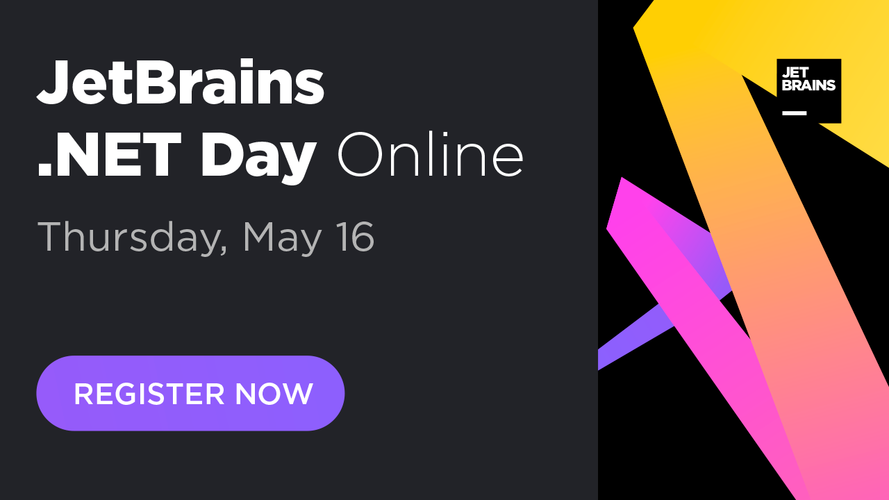 Register for JetBrains .NET Day Online