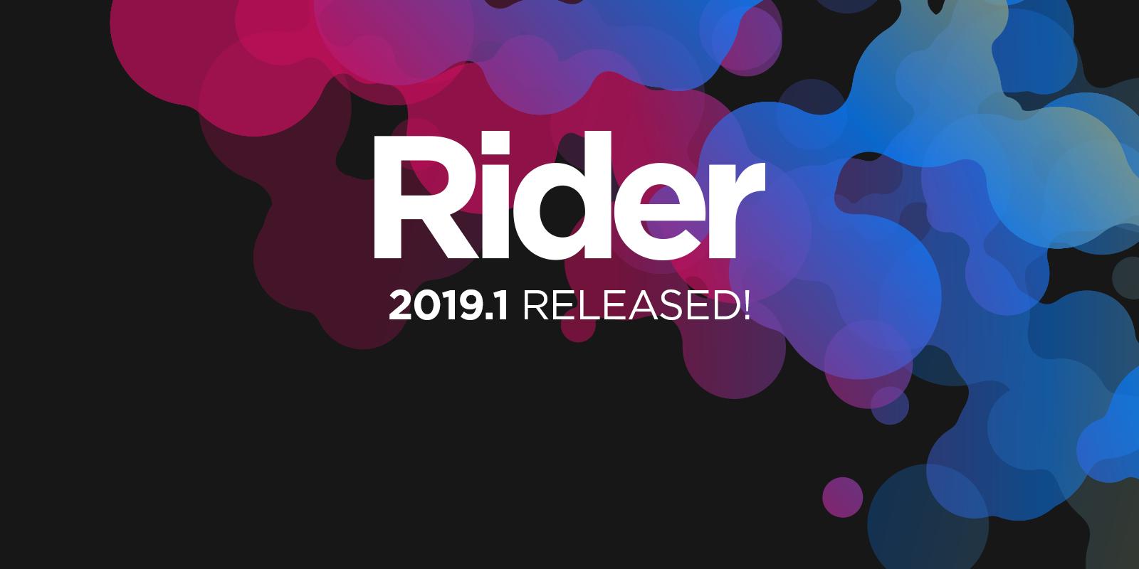 Rider 2019.1 est disponible