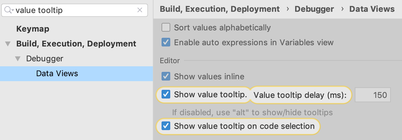 Enabling evaluation from code selection