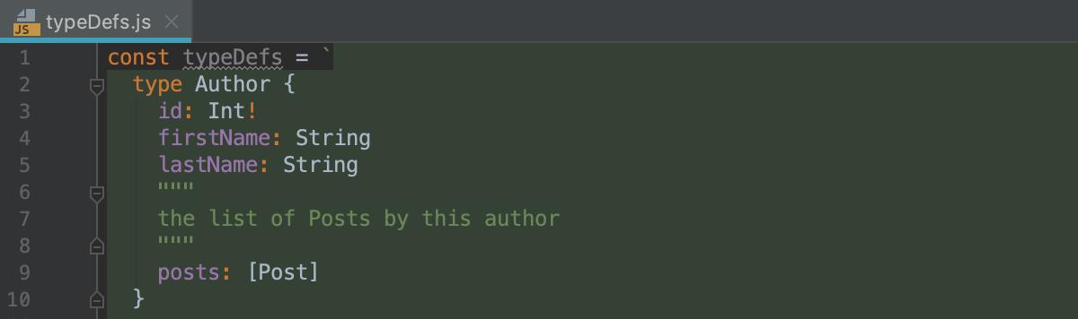 GraphQL in JavaScript