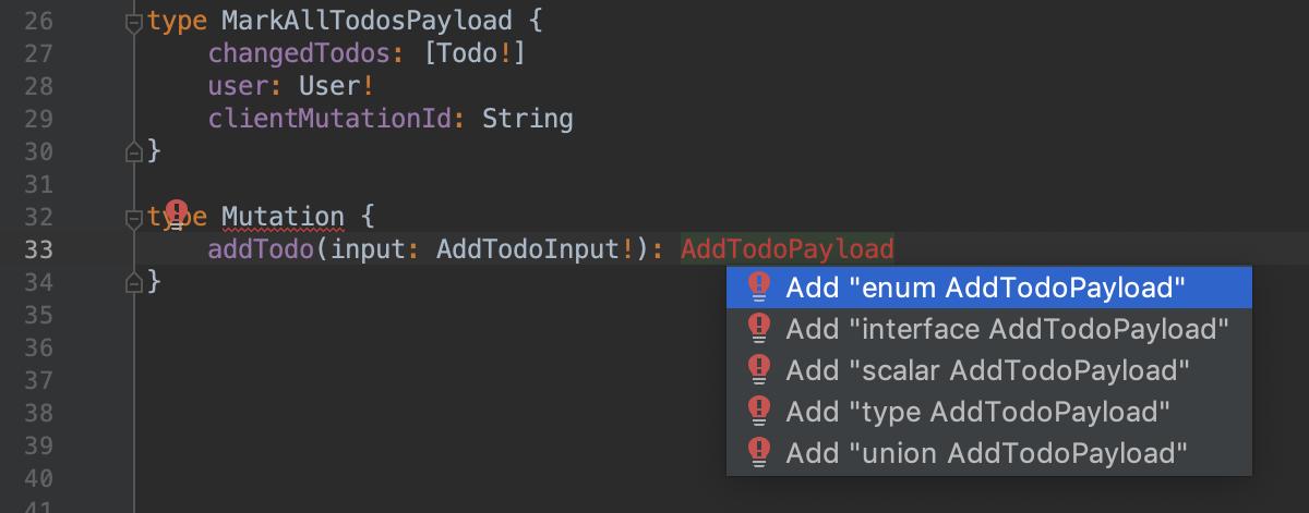 Quick fix in schema file